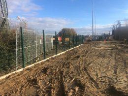 Montaż ogrodzenia panelowego o wysokości 2,7m